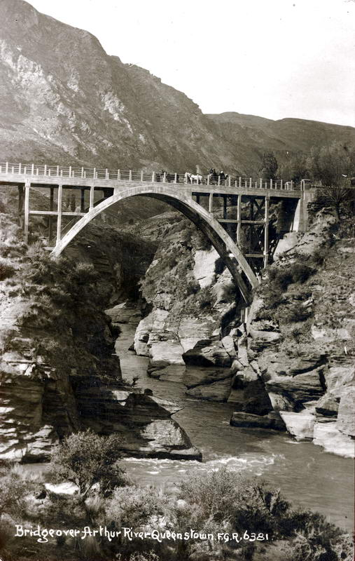 FGR 6381, Bridge Over Arthur River, Queenstown