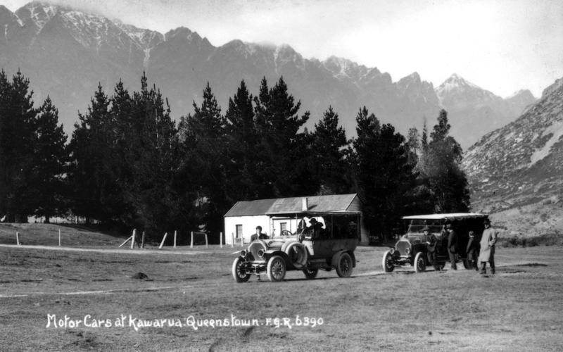 FGR 6390, Motor Cars At Kawarua, Queenstown