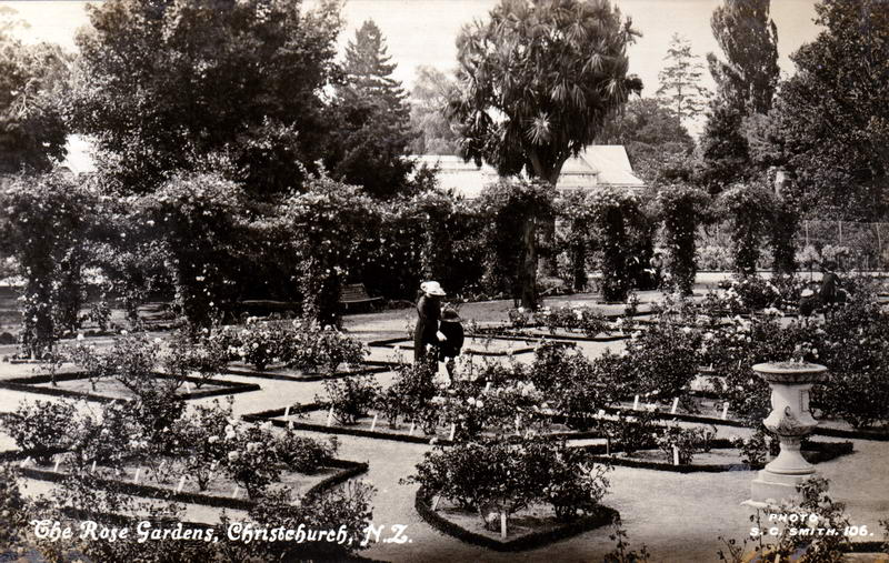 No.106 - The Rose Gardens, Christchurch N.Z.