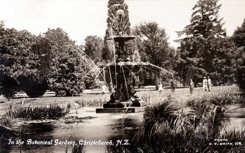 No.114 - In the Botanical Gardens, Christchurch N.Z.