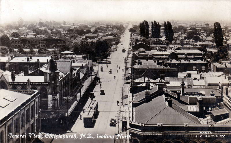 No.122 - Christchurch, N.Z,. looking North