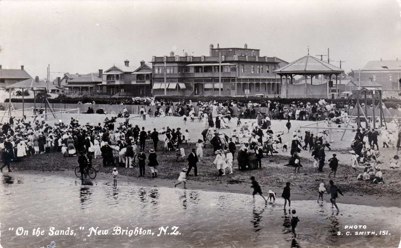 No.151 - On the Sands, New Brighton, N.Z