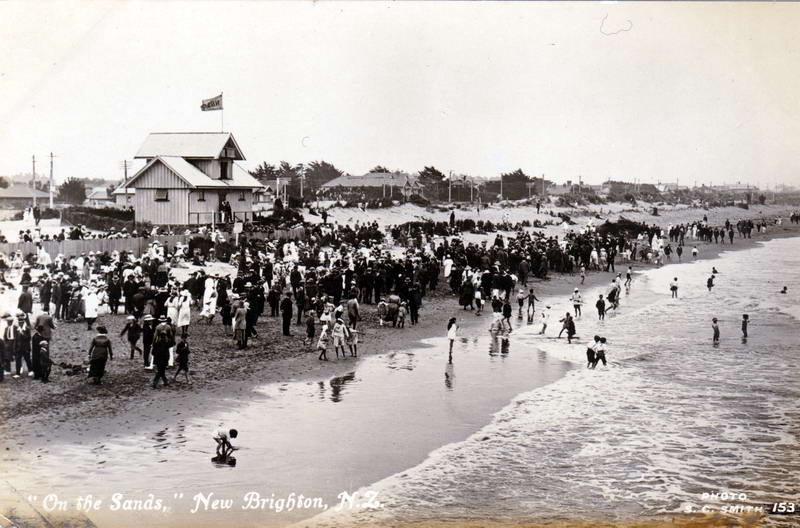 No.153 - On the Sands, New Brighton, N.Z