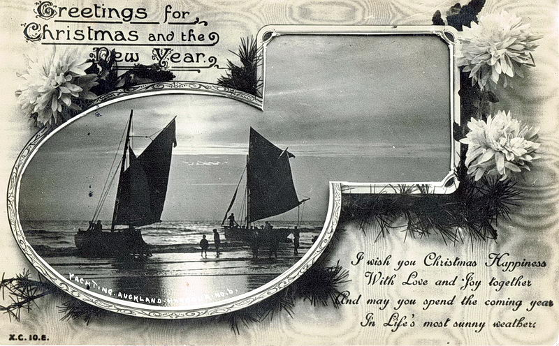No.6 Auckland Harbour Greetings Christmas