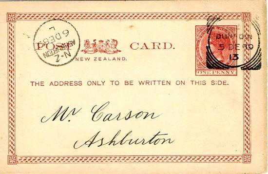 Postcard Pillar 106 - New Zealand Postcard Society